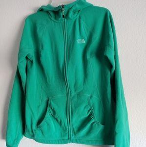 Women's Northface fleece jacket size medium